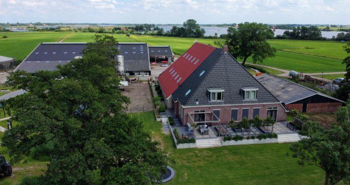 zorgboerderij Meezinger Grou dronefoto open dag