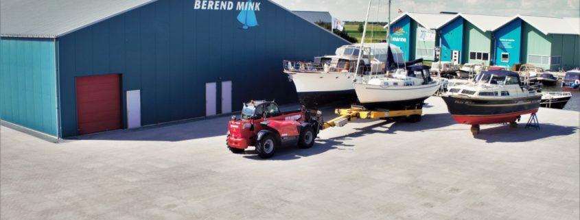 boathus, watersportservice Berend Mink