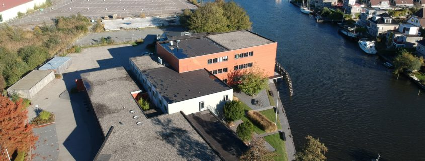 Dronefoto Grou Fumo Milieudienst Friesland