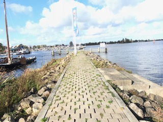 Grouster Pier in Grou