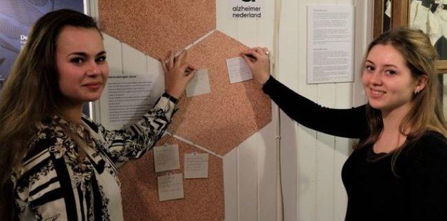 Kristy en Sylvana museum Hert fan Fryslan - Friesland College