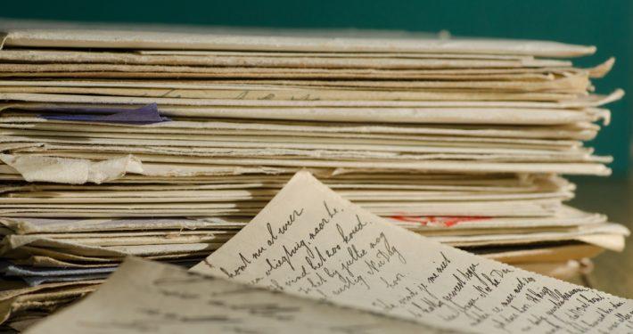 Vondst brieven dichteres Rixt Grou