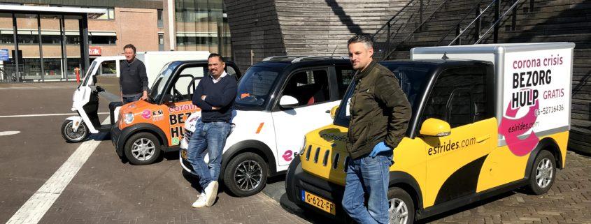 Grouster bedrijf van start met bezorghulp in Leeuwarden