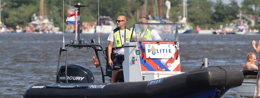 politie te water Grou