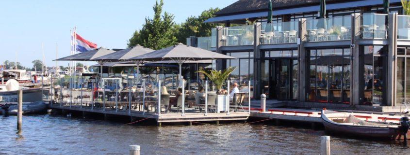 Theehuis Grou koninklijke hotspot voor Willem Alexander
