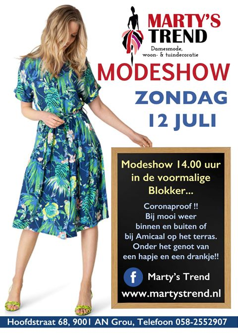 Modeshow Marty's Trend in Grou