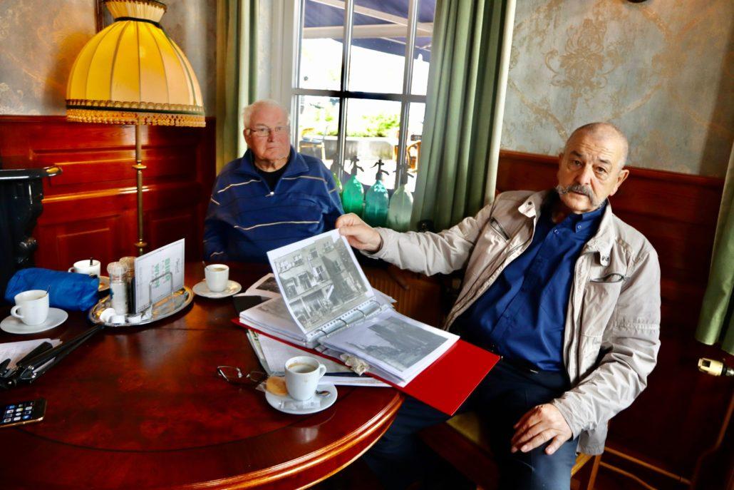 Ruud Looijaard ontmoet Grousters in Amicaal