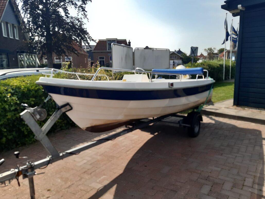Topcraft Consoleboot gestolen in Grou