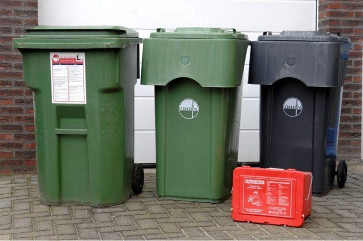 Afval ophalen sortibak Leeuwarden Grou
