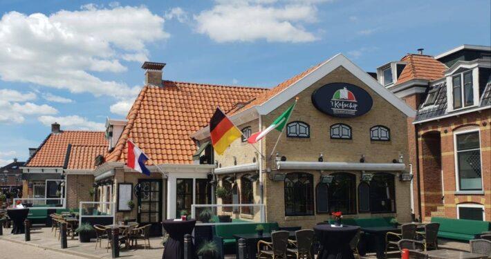 Brasserie in voormalig pand Kofschip