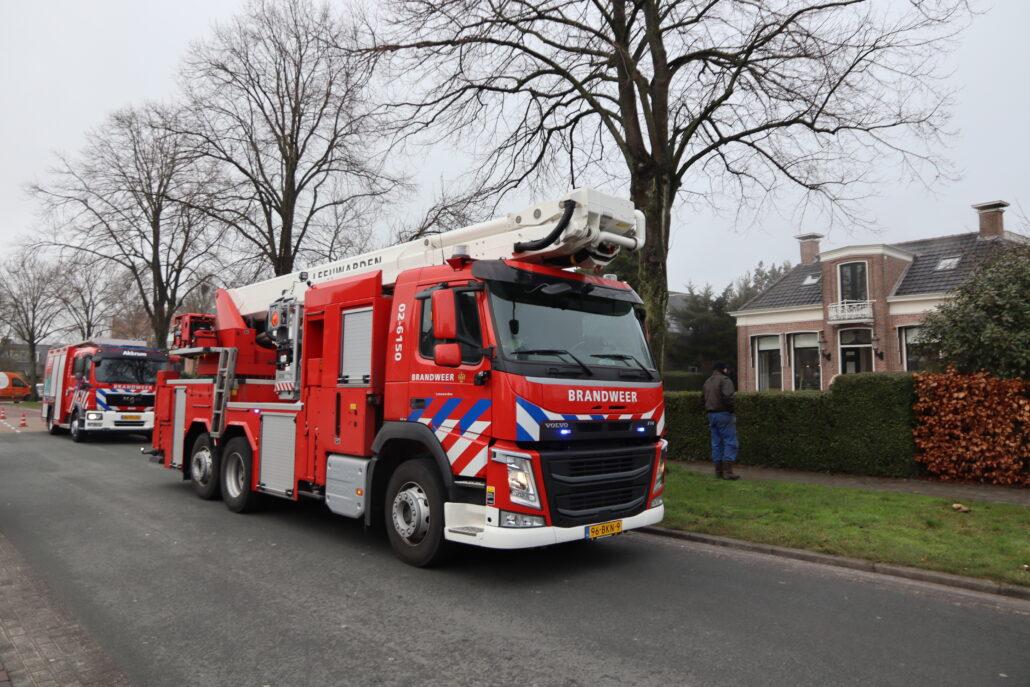 Brand Stationsweg Grou