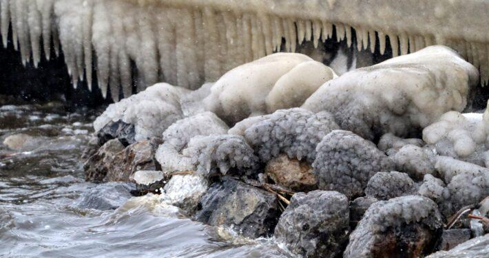 Siberische kou in Grou