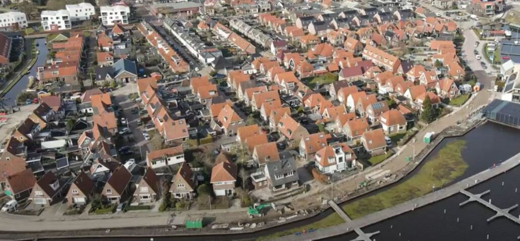 Dronefoto Oosterveldwijk