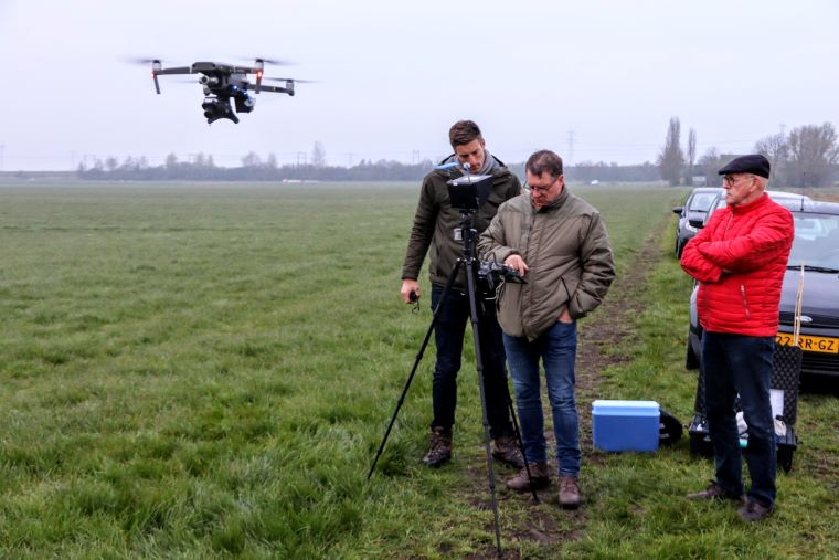 Dronepiloten Fûgelwacht Grou.