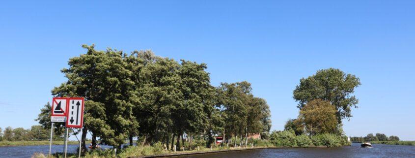 Locatie Trije Hus bij Grou