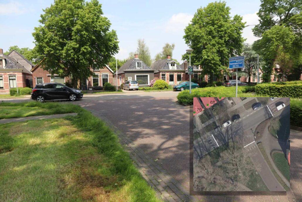 Pianomarkering Stationsweg Oostergoweg