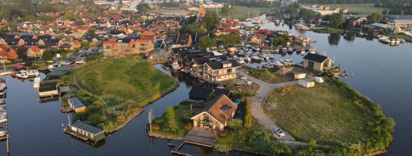 Minne-Finne Grou dronefotografie Friesland Press4all