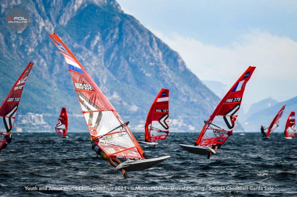Windfoilen Hidde van der Meer Grou 01