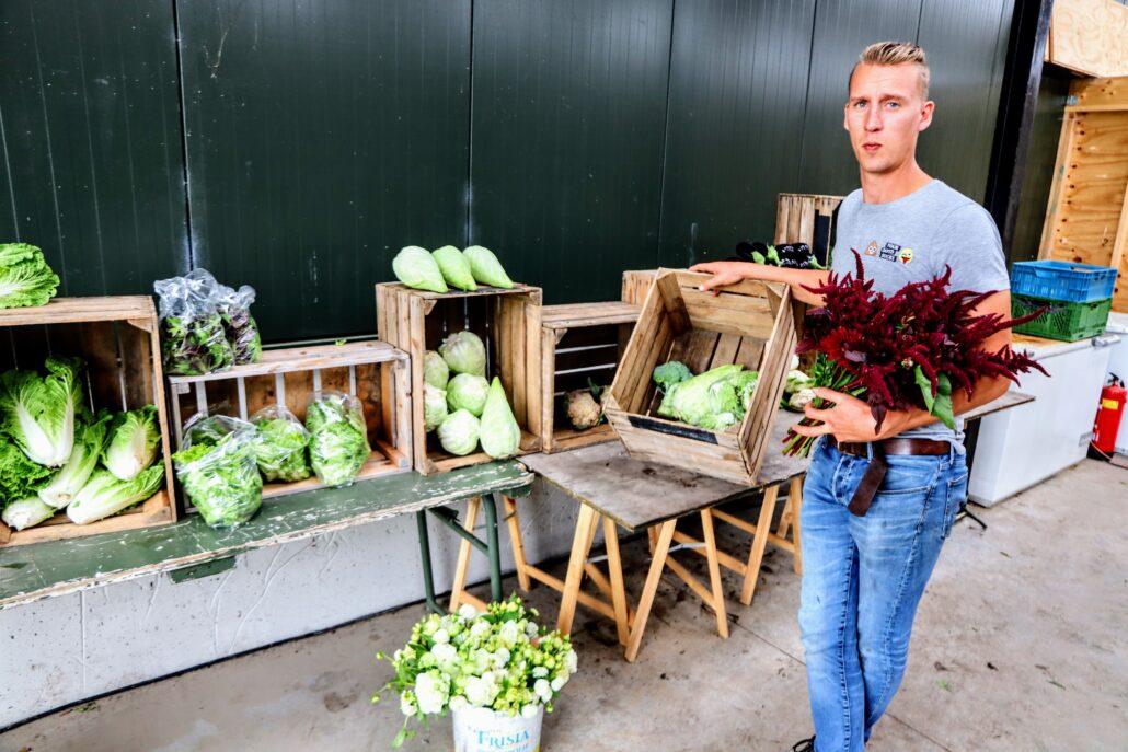 Joël v/d Broek van Yn'e Sinne Farm