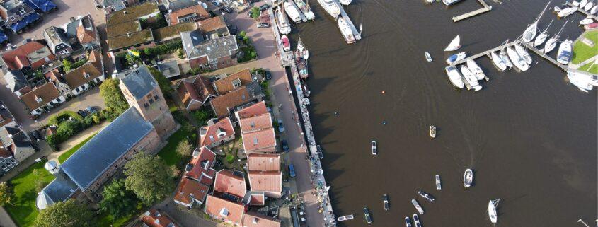 Dronefoto Young Solar Challenge in Grou