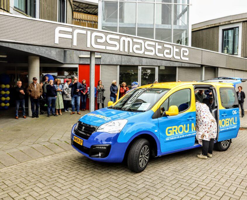 Grou Mobyl arriveert bij FriesmaState. Foto: Press4All