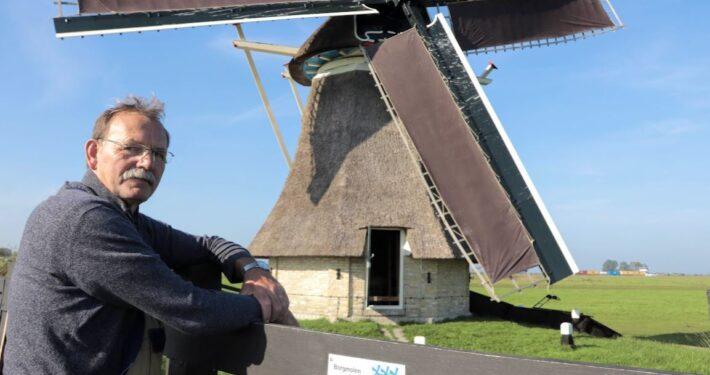 Leerling molenaar Jouke Poortman. Foto: Press4All